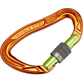 Climbing Technology Nimble Evo SG Carabiner orange/green